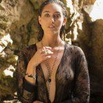Collier Perle de Jade argent massif perles onyx