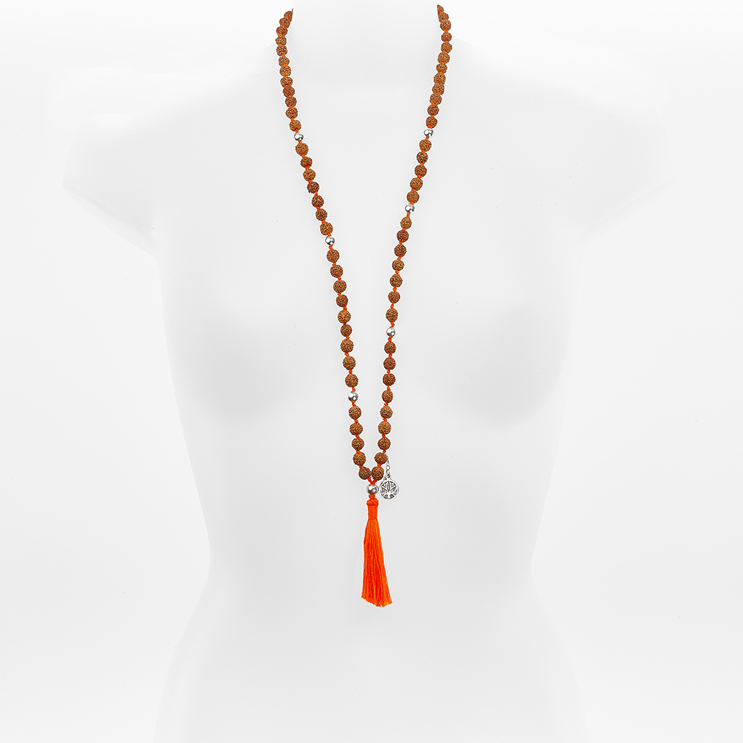 Perle de Jade Collier Mâla Méditation Madhura