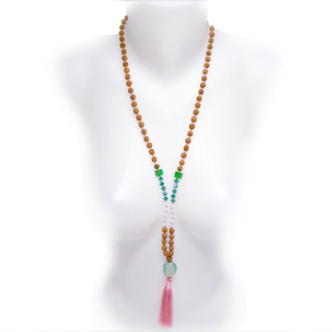 Collier Mâla de Méditation Perle de Jade
