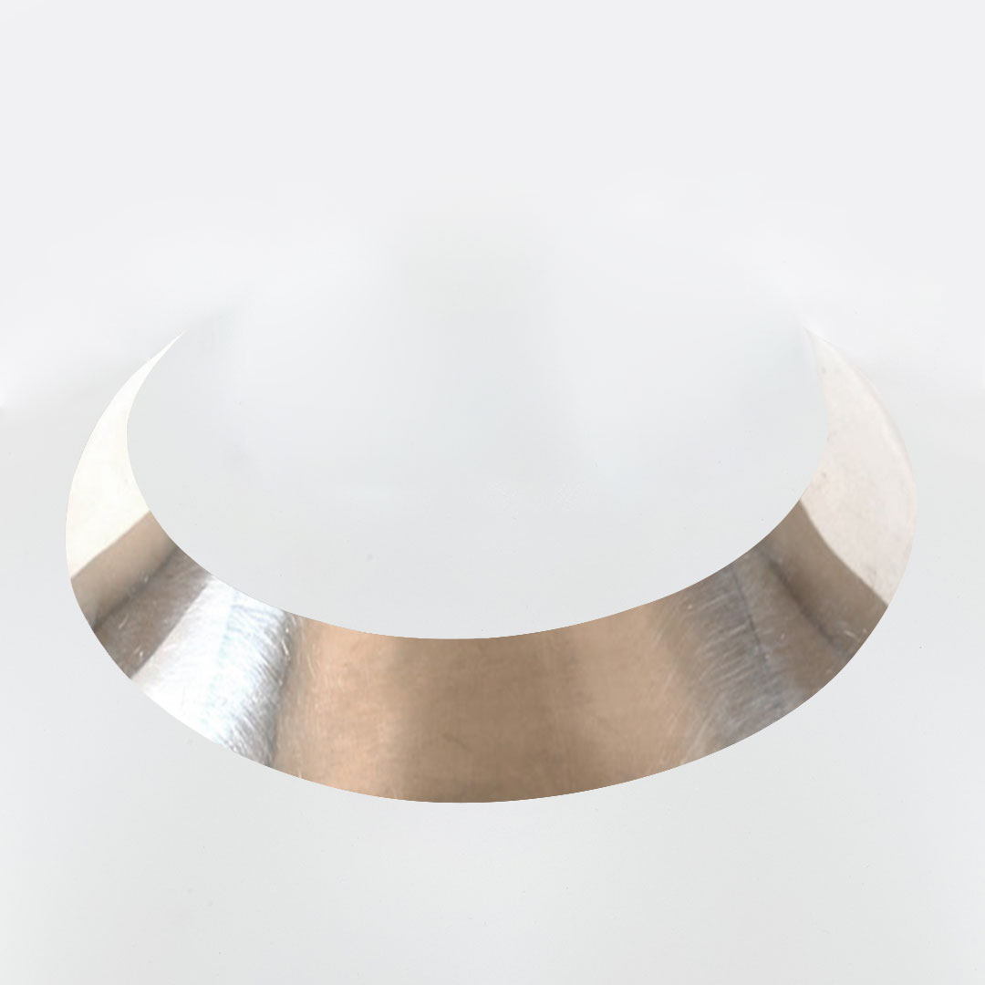 Solid silver choker necklace