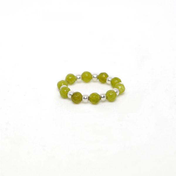 Perle-de-jade-bague-Quartz-vert-et-argent-massif-925