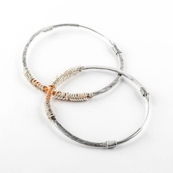 Perle-de-jade-boucles-oreilles-créoles-argent-massif-925-cuivre