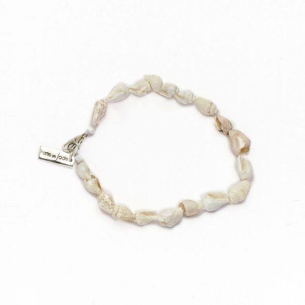 Perle de Jade bracelet coquillage