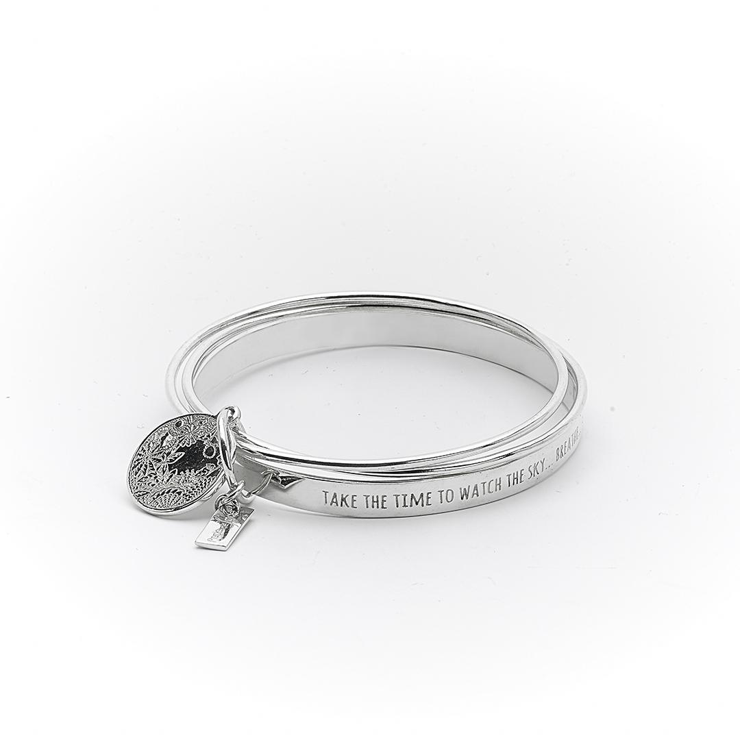 Bracelet argent massif 925 talisman Perle de Jade