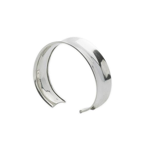 Perle de jade bracelet jonc argent massif 925 retouche