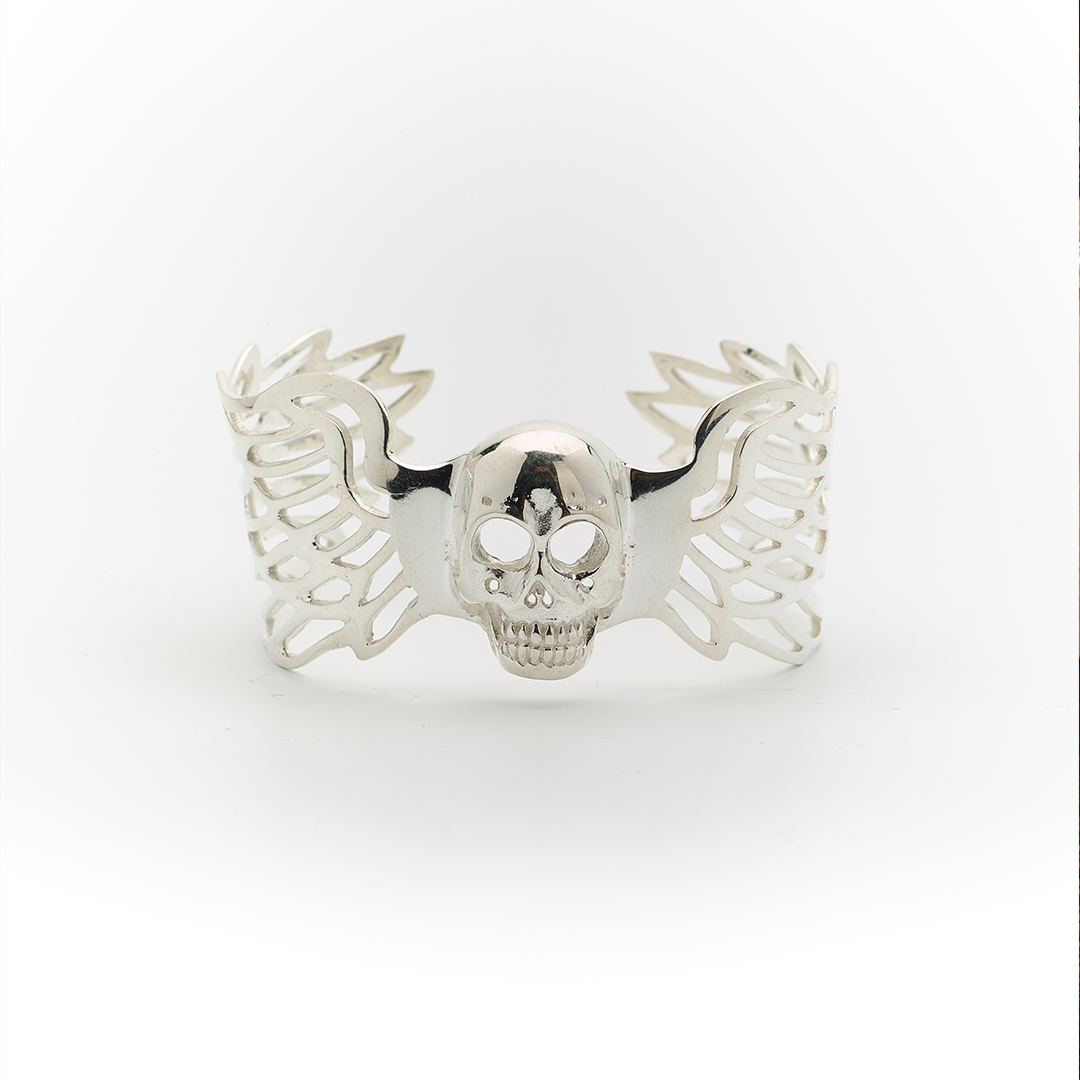Bracelet Perle de Jade en argent massif (925)