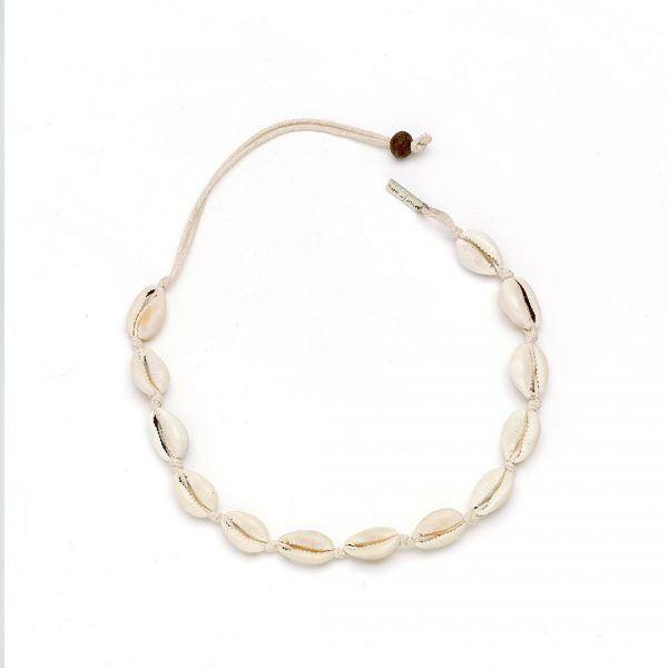 Perle de Jade collier coquillage