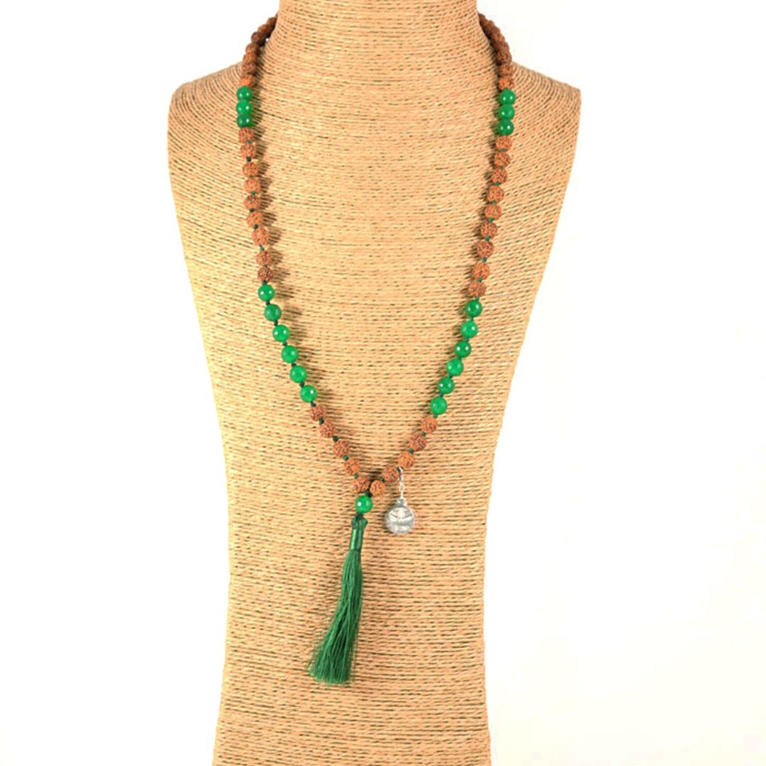 """Jaya"" Mâlâ meditation necklace"