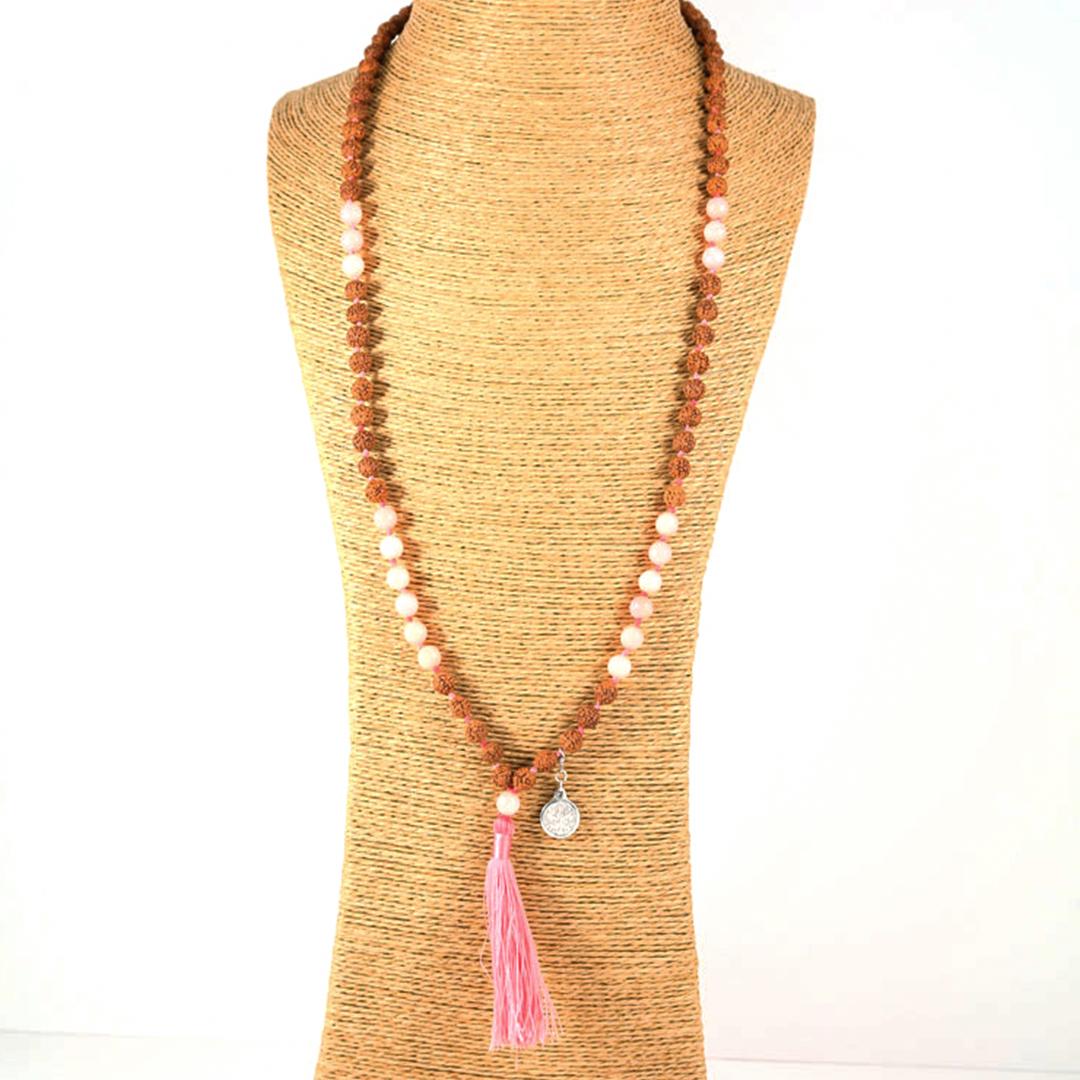 « Saloni » Mâlâ meditation necklace