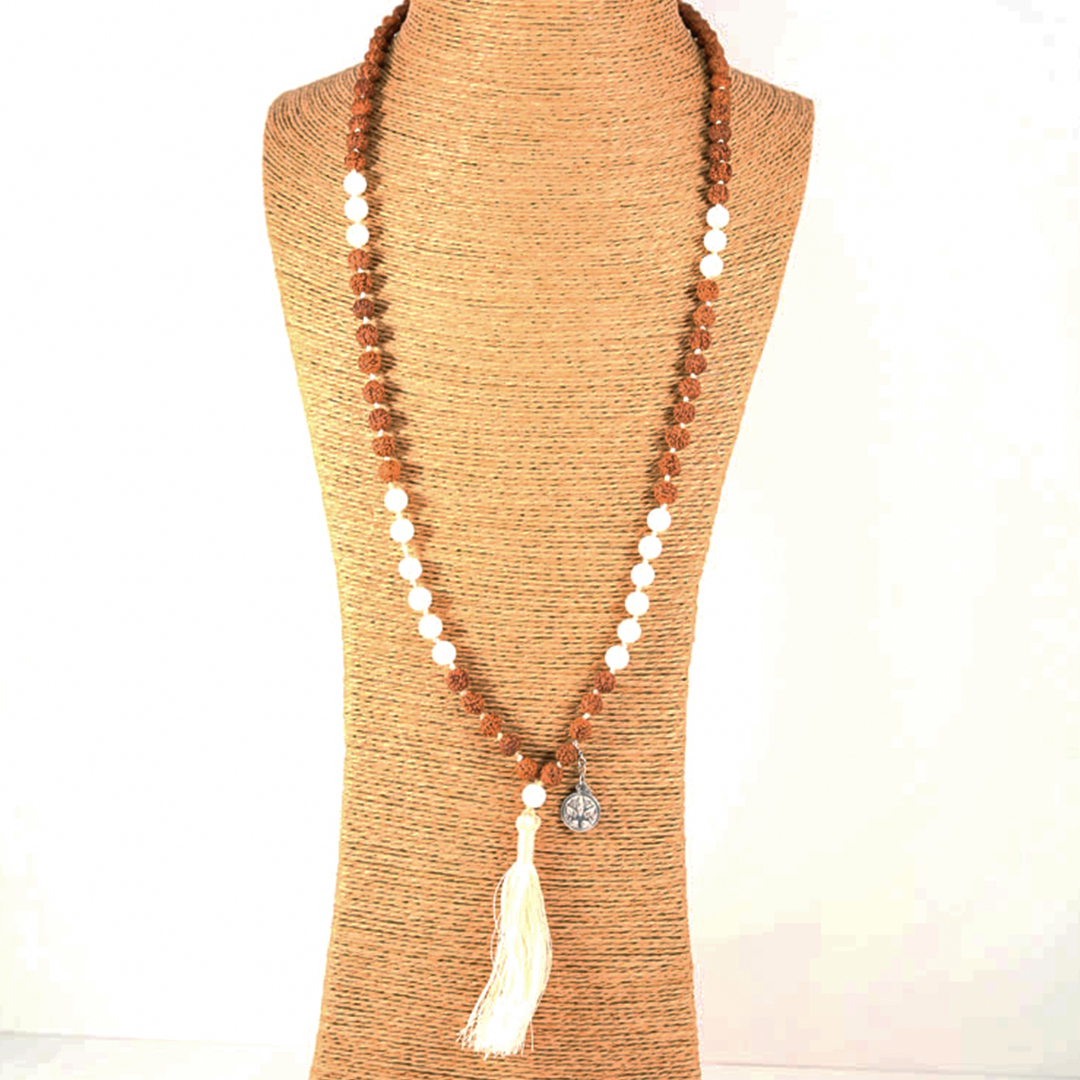 """Sahana"" Mâlâ meditation necklace"