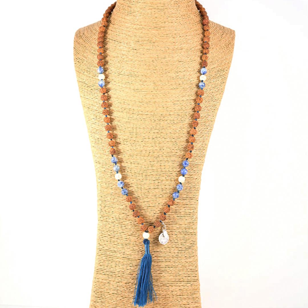 """Siddhi"" Mâlâ meditation necklace"