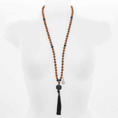 Collier Mâla de médiation Perle de Jade Malina
