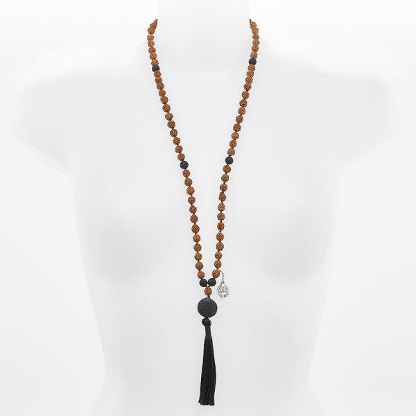 11003 - Collier Mâla Perle de Jade médiation Malina