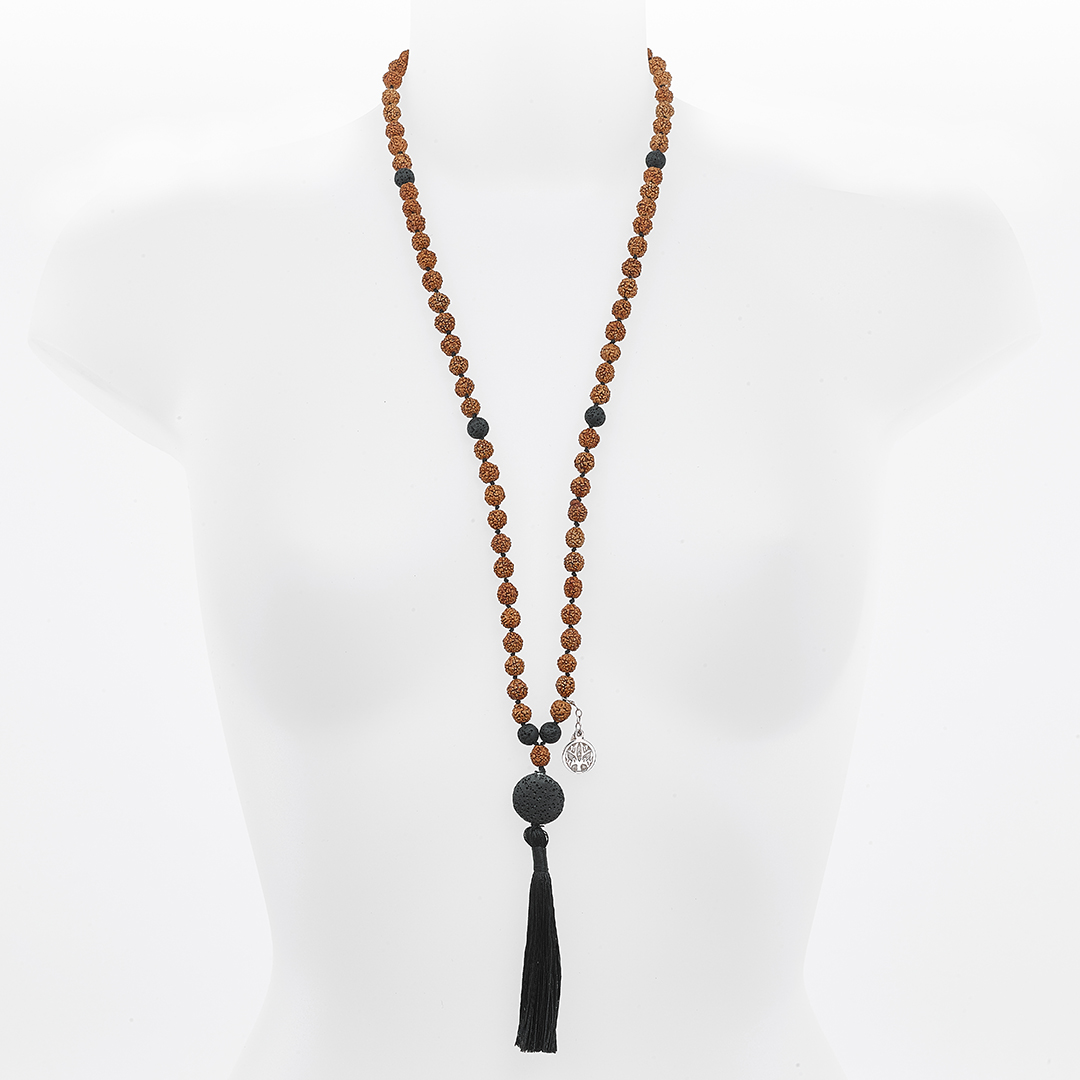 """Malina""Mâlâ meditation necklace"