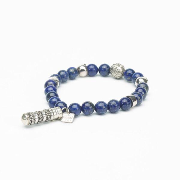 The Party Line Lapis bleu bracelet homme 3