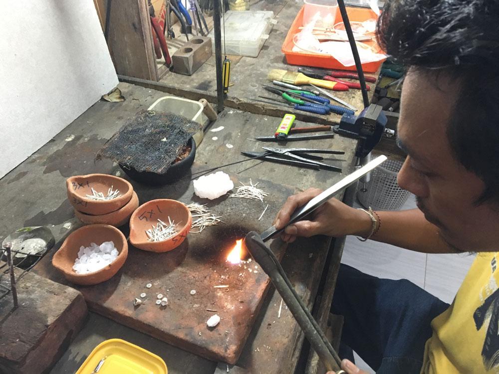 bague-argent-fabrication-perle-de-jade
