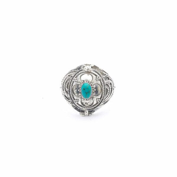 bague-a-secret-argent-pierre-de-turquoise