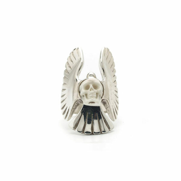 bague angel perle de jade