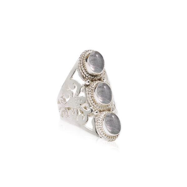 bague eivissa pierre de jade argent massif 925 perle de jade retouche