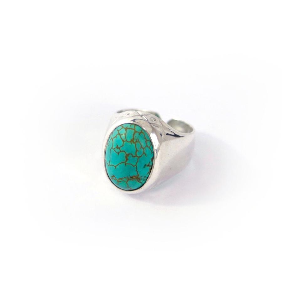 bague india perle de jade