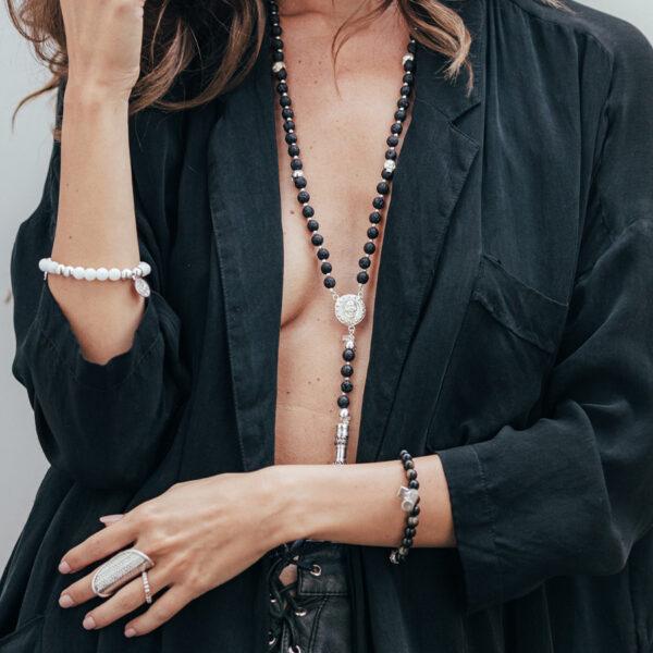 bracelet-good-karma-elastique-noir-perle-de-jade