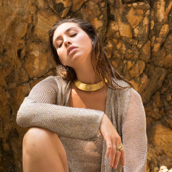 collier-ras-de-cou-bronze-perle-de-jade