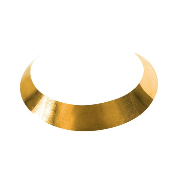 collier ras de cou bronze perle de jade retouche