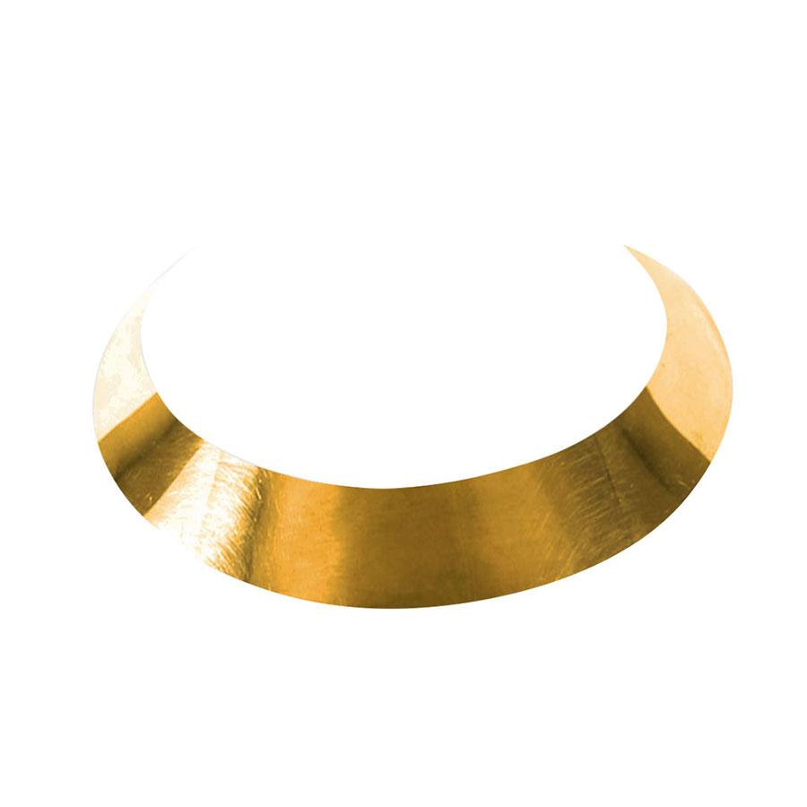 Collier ras de cou bronze perle de jade