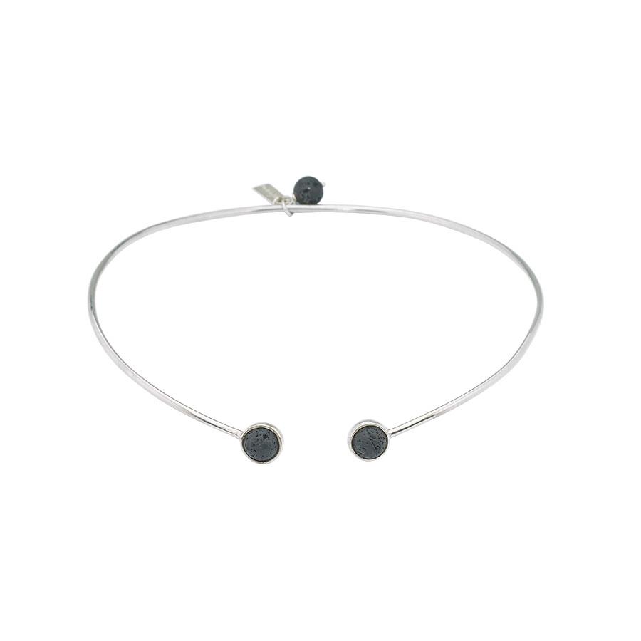 collier ras de cou perle de jade