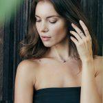 Collier Perla en argent et sa perle noire - Bijoux pour femmes