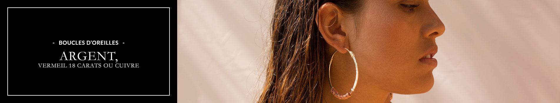 Perle de Jade Boucles d'oreilles argent