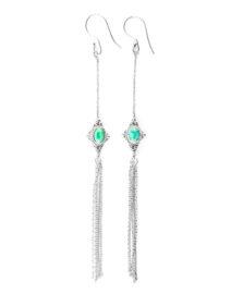boucles d'oreilles pierre turquoise Perle de jade
