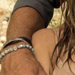 Perle de Jade bracelet argent massif-925 Perles amazonite