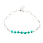 perle-de-jade-bracelet-argent-turquoise-perle de jade