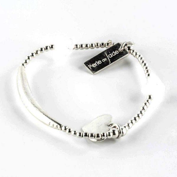 Bracelets élastiques en argent enfants