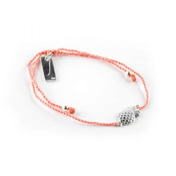Bracelet enfant Perle de Jade réglable en argent 925