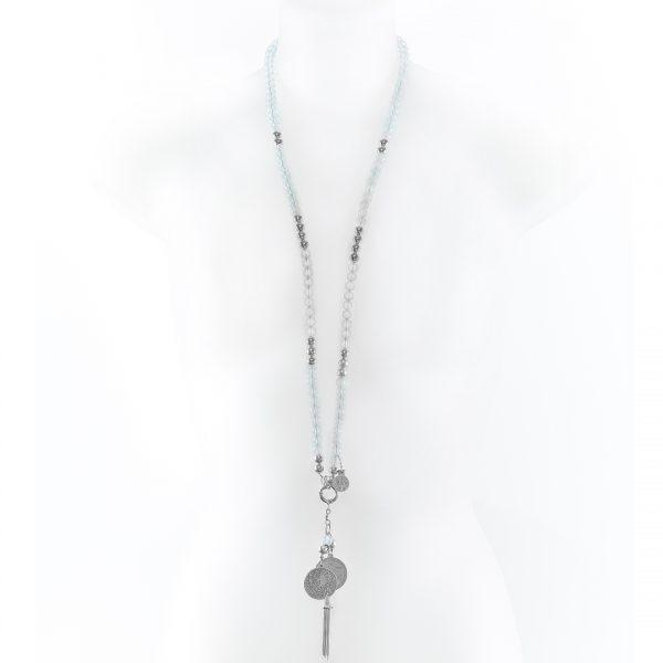 Perle de Jade collier en pierres d'opaline
