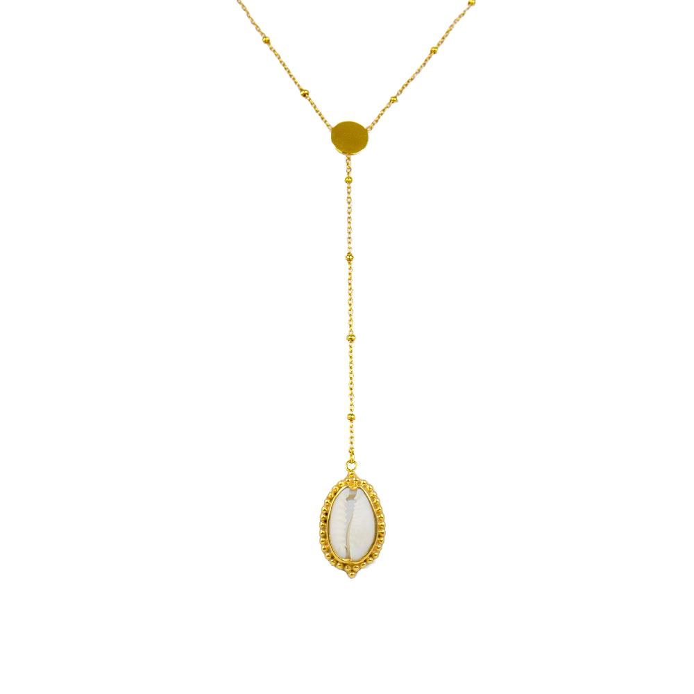 perle-de-jade-coquillage-collier-plaque-or