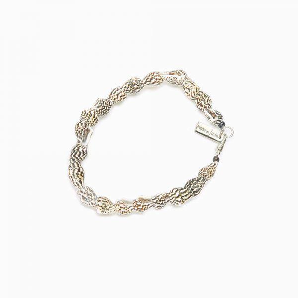 Perle de Jade bracelet coquillage - Bijoux uniques de créateur