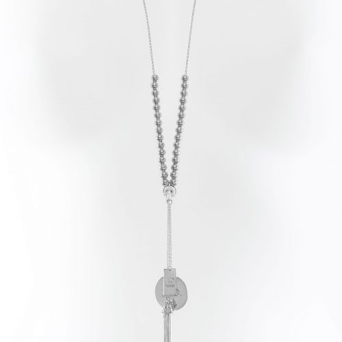 Collier en argent massif Women are Heroes The Party Line