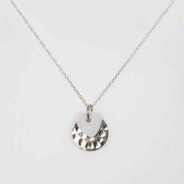 Perle-de-Jade-collier-enfant-argent-coeur