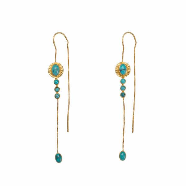 boucle-oreilles-pendantes-stardust-vermeil-turquoise