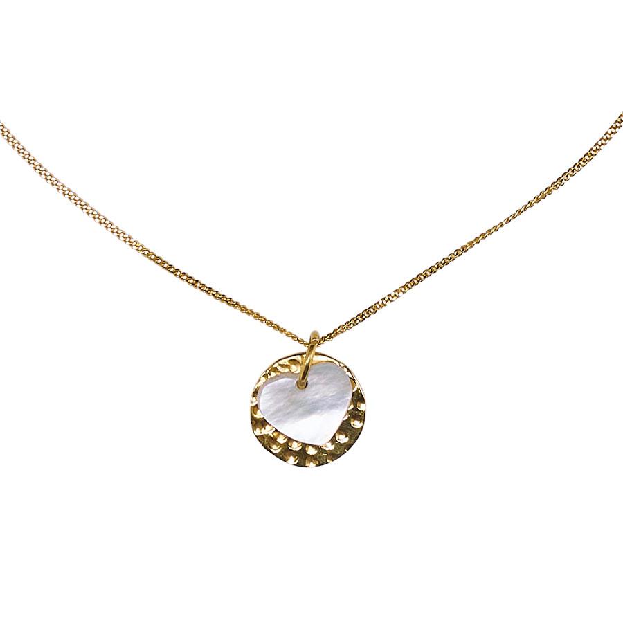 collier enfant pendentif coeur