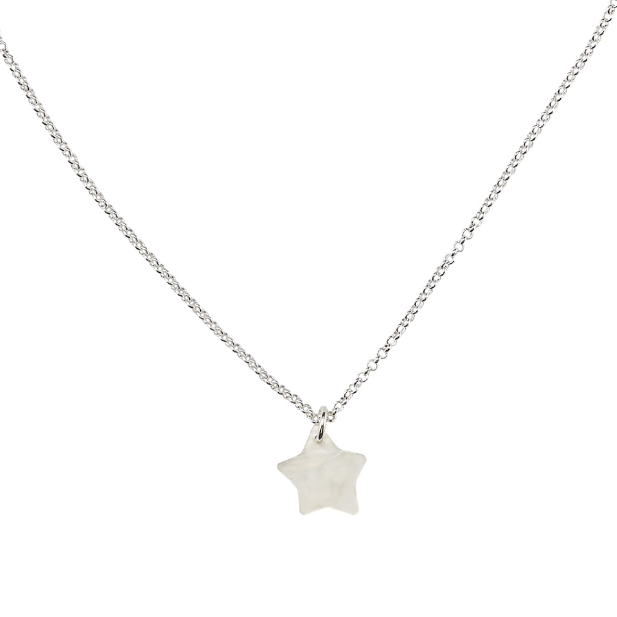 collier enfant pendentif étoile