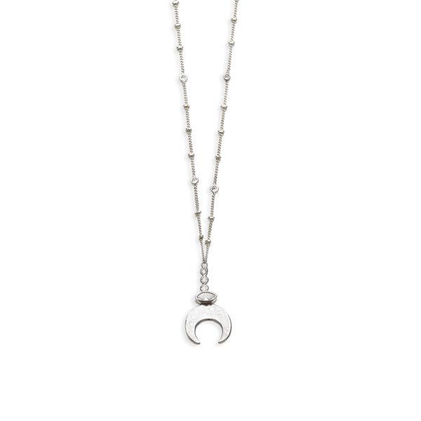 collier-pendentif-lune-argent-quartz-blanc-perle de jade