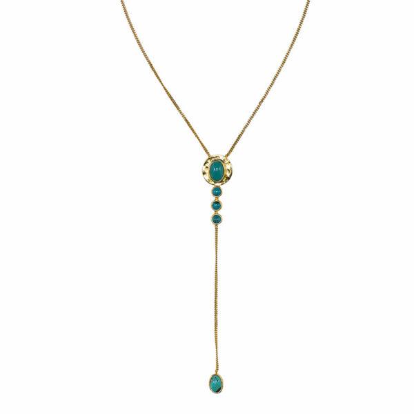 collier-vermeil-18-carats-pierres-de-turquoise