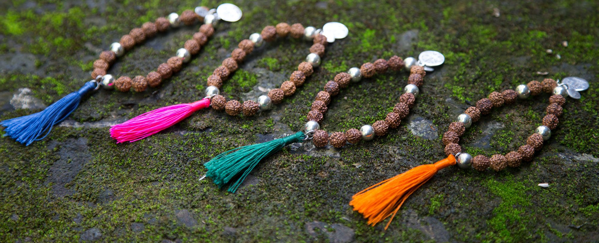 Bracelets Mâlâ de méditation Perle de Jade