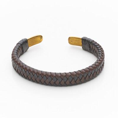 Bracelet cuir Mix big 5