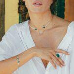 bracelet jonc pierre de jade simplicity perle de jade
