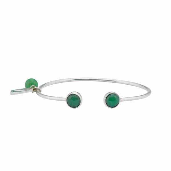 bracelet-jonc-simplicity-argent-massif-pierres-de-jade-perle-de-jade